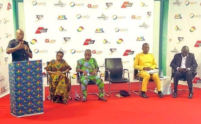 Assault on journalists can't be dealt with on radio, TV – ACP Eklu