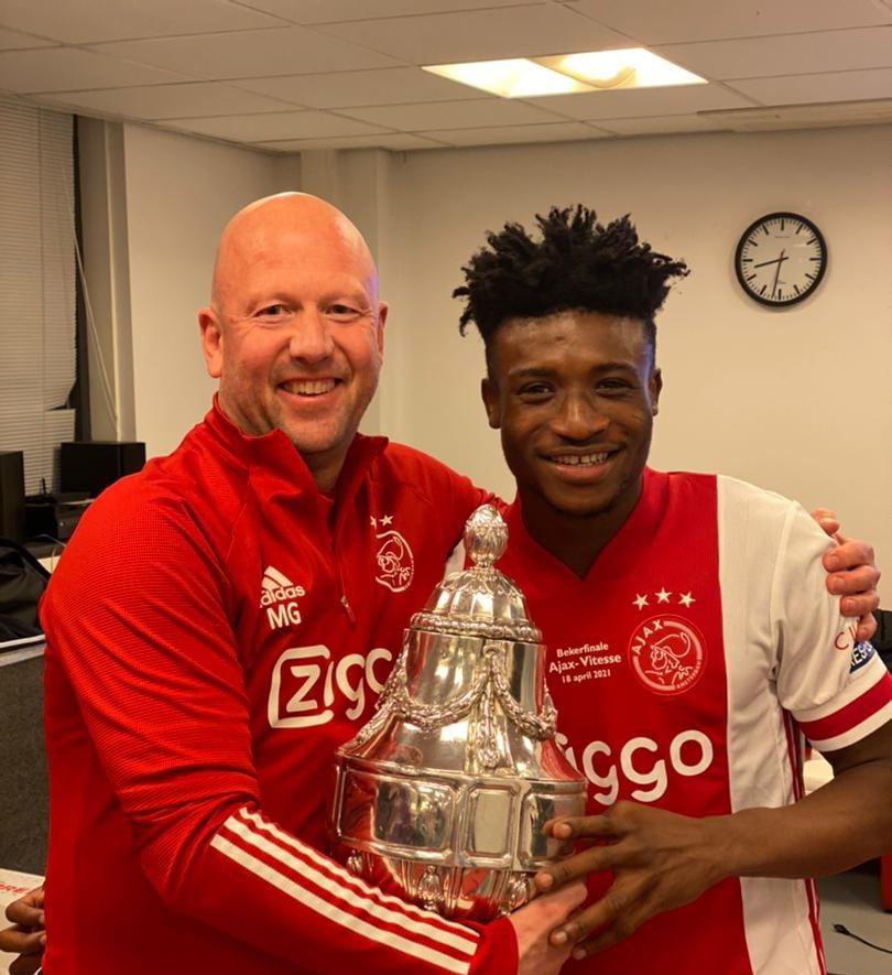 Kudus wins maiden title with Ajax