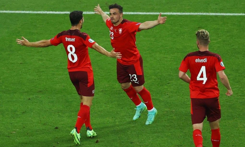 Euro 2020: Switzerland beat Turkey to keep hopes alive