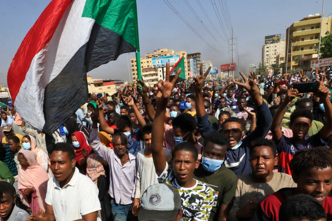 Protests rock Sudan after military coup