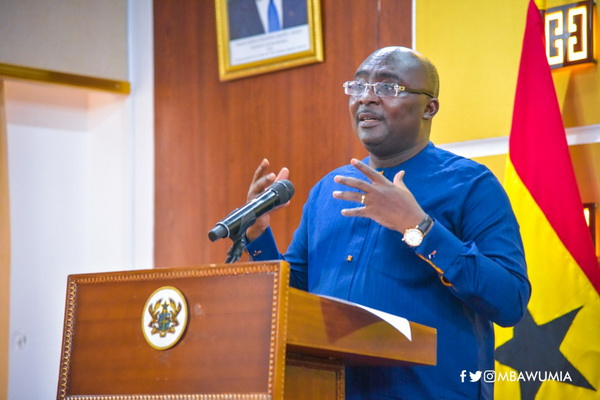 DR. BAWUMIA SEEKS TO AMEND THE INFORMAL SECTOR TAXATION SYSTEM