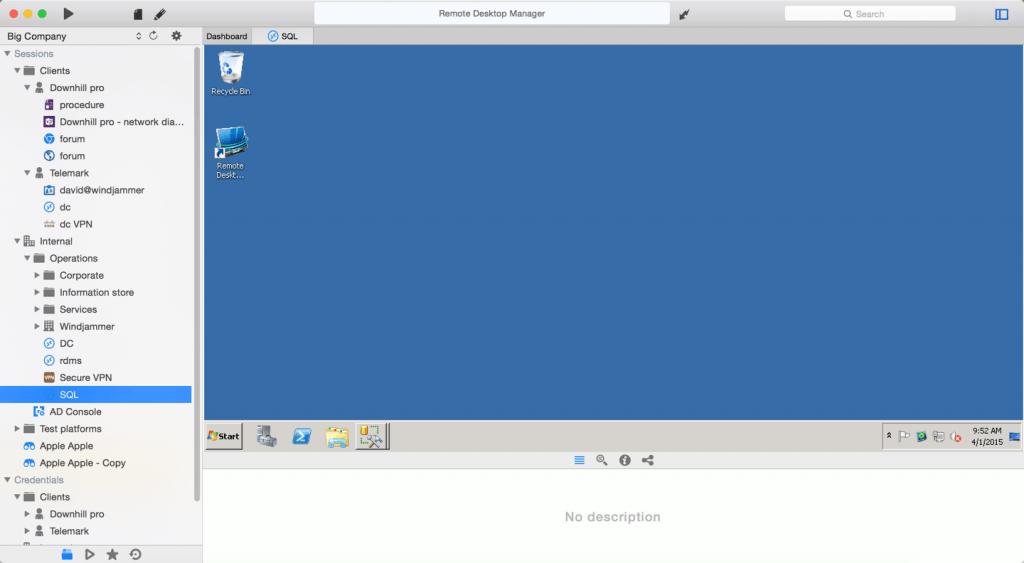 Teamviewer Mac Interface