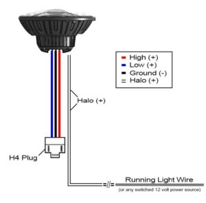 power at light wiring diagram star topology 7 vx led headlight instructions vision x usa xil 7rd vortexdiagram