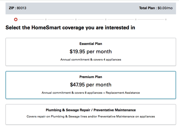 Choose your Xcel Energy HomeSmart plan
