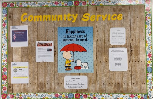 small resolution of community service