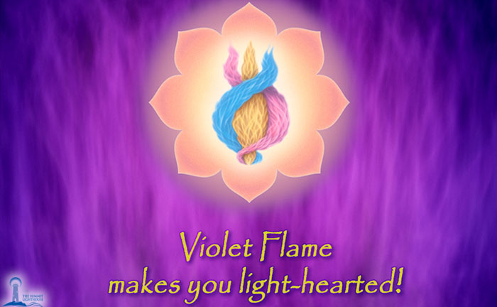 Violet Flame Challenge: Change Your Life Forever
