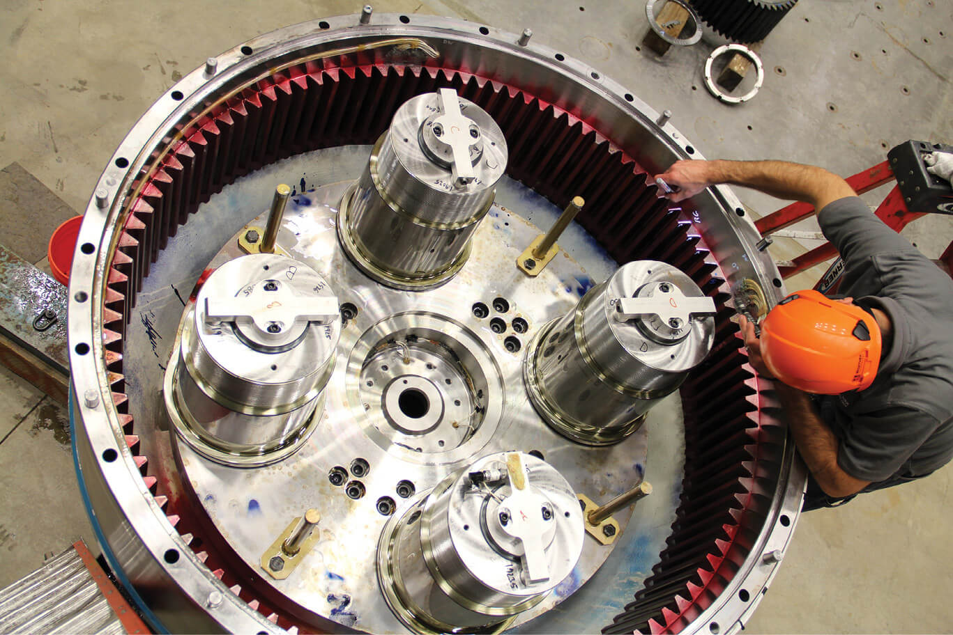 What journal bearings may contribute to wind turbine gearboxes