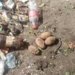 Гранати у львівькому смітті