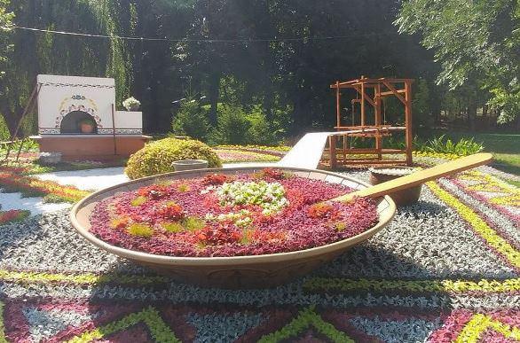 На Співочому полі у Києві відкрилася унікальна виставка квітів