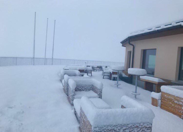 Сніг у Швейцарії