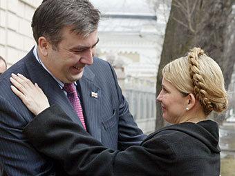 Тимошенко, Саакашвілі