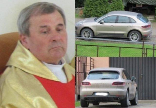 Польський священик ы Porsche