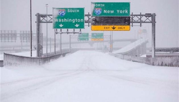 Зимовий шторм у США