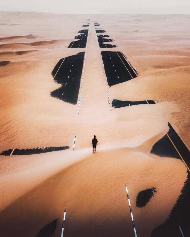 Дубай, траса