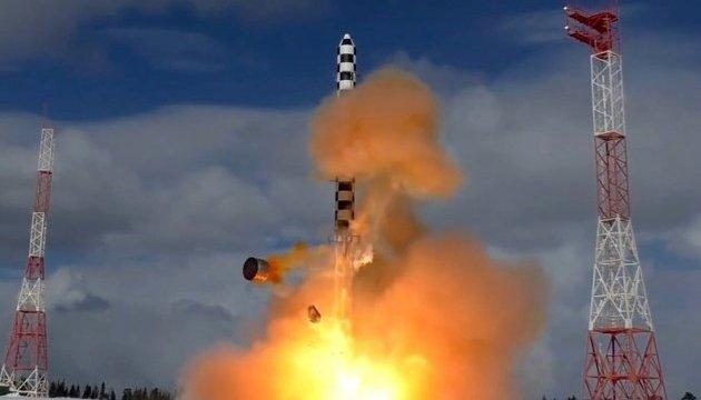 У Росії успішно випробували нову балістичну ракету
