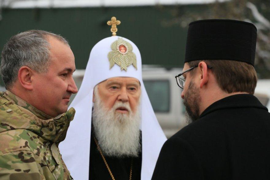 """Патріарх Філарет: """"Жителі Донбасу найбільше відійшли від Бога"""""""