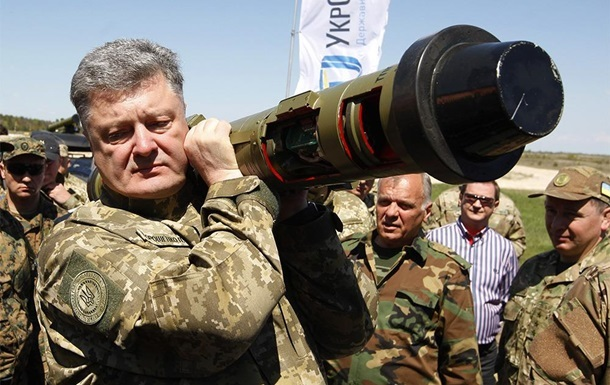 В Україні випробували Javelin – Порошенко
