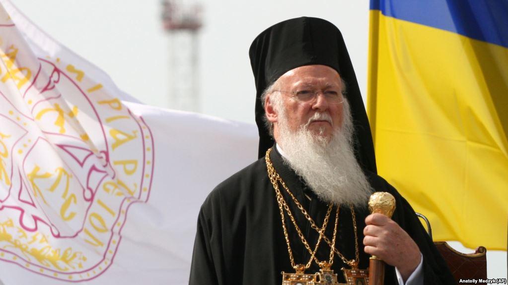 Константинопольський Патріарх Варфоломій у Києві