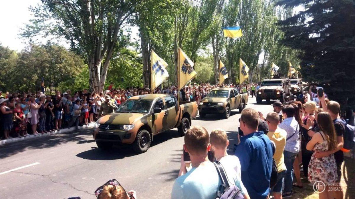 Маріуполь. Військовий парад