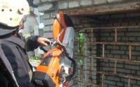 рятувальники звільнили дитину, що застрягла в дитячому замку