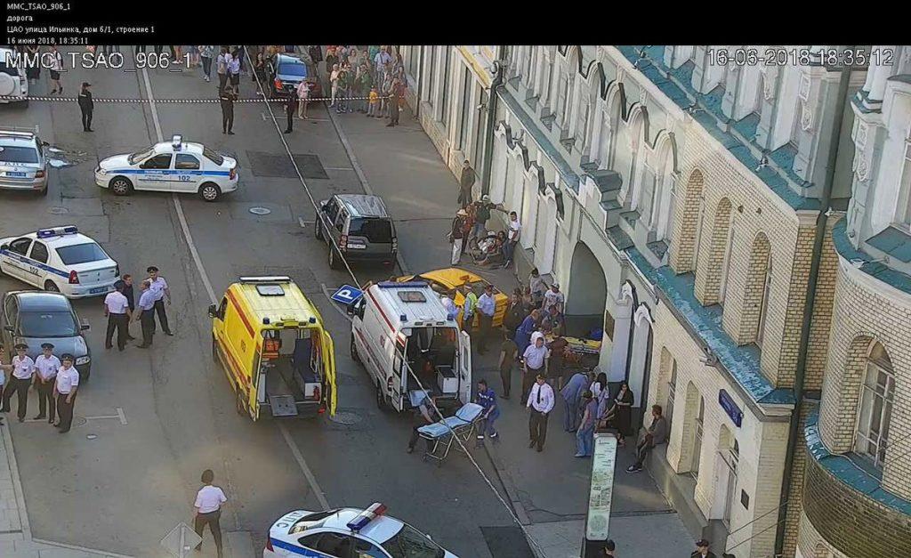 Теракт у Москві. Киргиз протаранив групу вболівальників