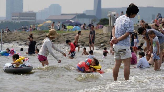 Спека в Японії