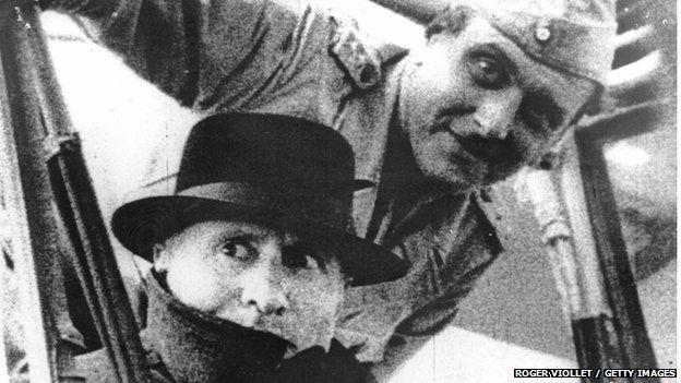 Скорцені і Беніто Муссоліні