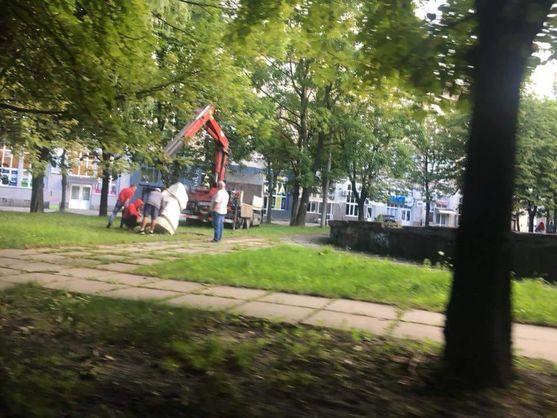 У Львові хотіли викрасти пам'ятний знак героям УПА