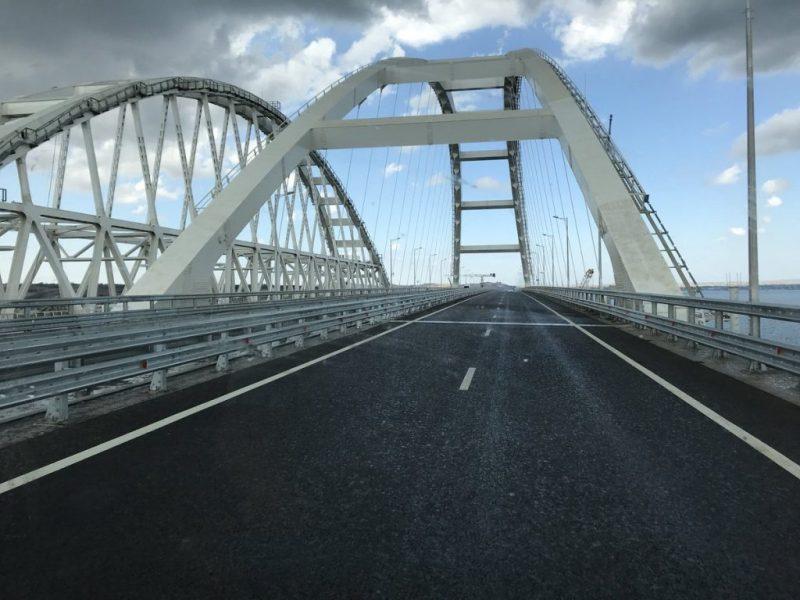 Порожній Кримський міст