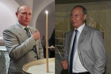У Криму побували два різних Путіни