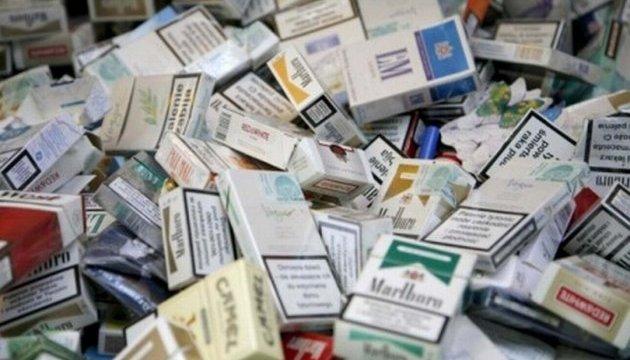 Вартість сигарет в Україні.