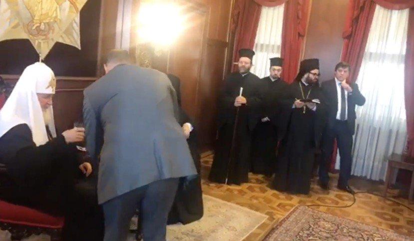 """Патріарх Кирило і """"Новічок"""""""