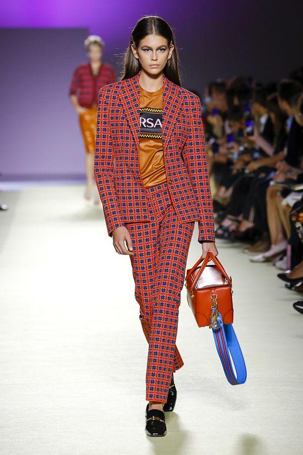 Versace. Показ на тижні моди в Мілані