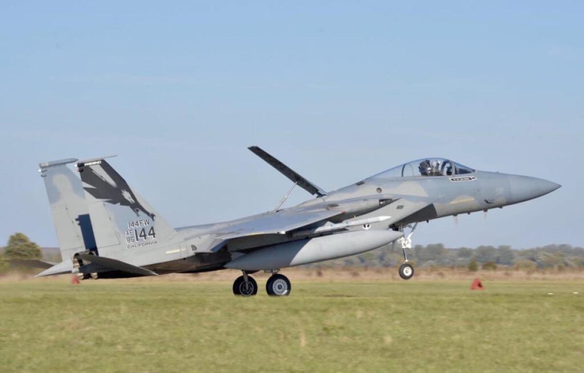 Винищувач армії США F-15C
