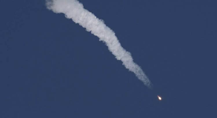 Падіння ракети Союз