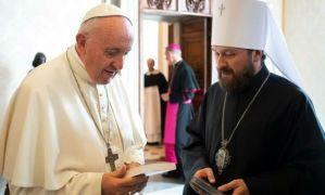 РПЦ поскаржилась Папі Франциску