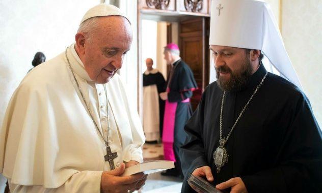 """РПЦ поскаржилась Папі Франциску на """"поганих"""" Константинополь та Україну"""