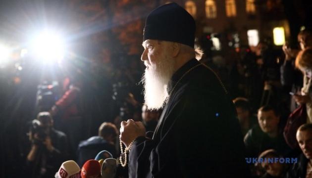 Патріарх Філарет: Віруючі деякий час самі визначатимуть мову богослужіння