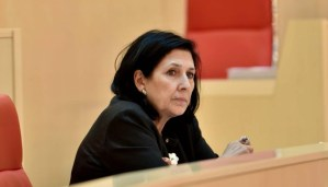 66-річна Саломе Зурабішвілі