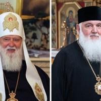Синод Вселенського Патріархату зняв російську анафему з Філарета та Макарія