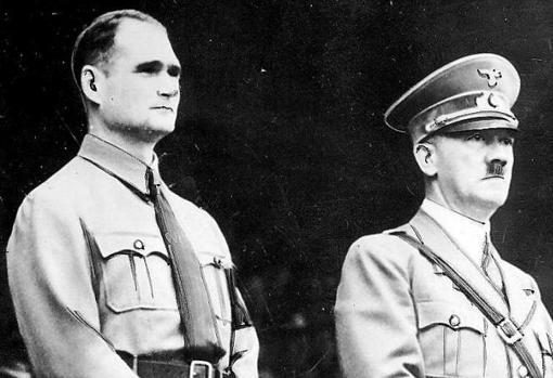 Гітлер і Рудольф Гесс