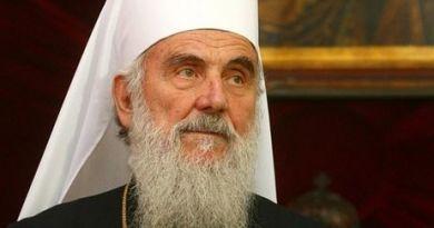 глава Сербської православної церкви патріарх Іриней