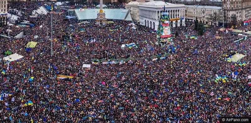 Марш українців, який вразив увесь світ