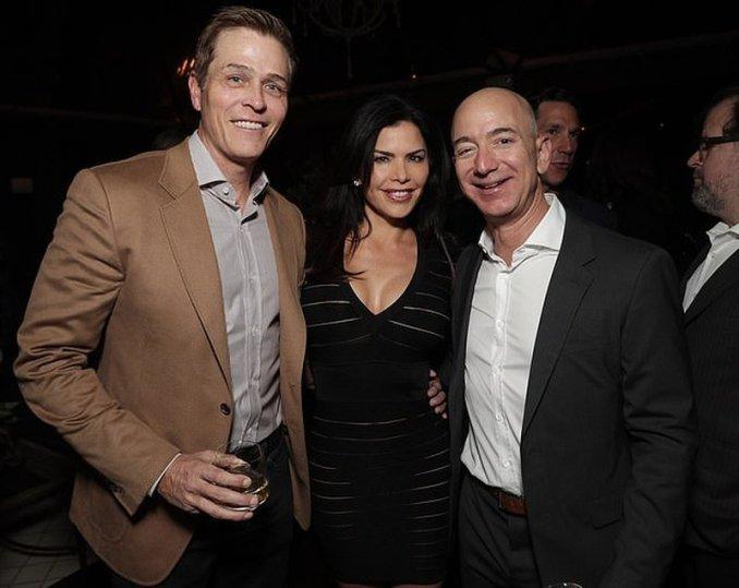Джефф Безос і його дружина
