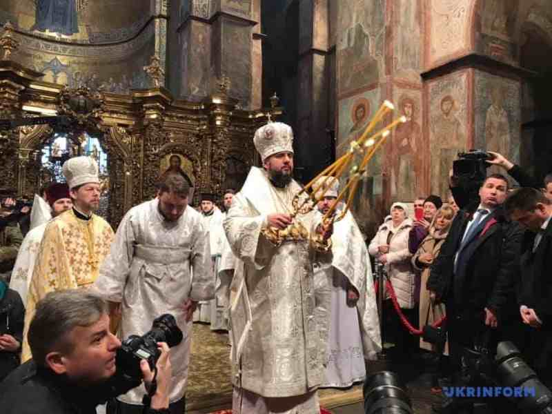 Предстоятель ПЦУ митрополит Епіфаній згадав у молитві Московського патріарха