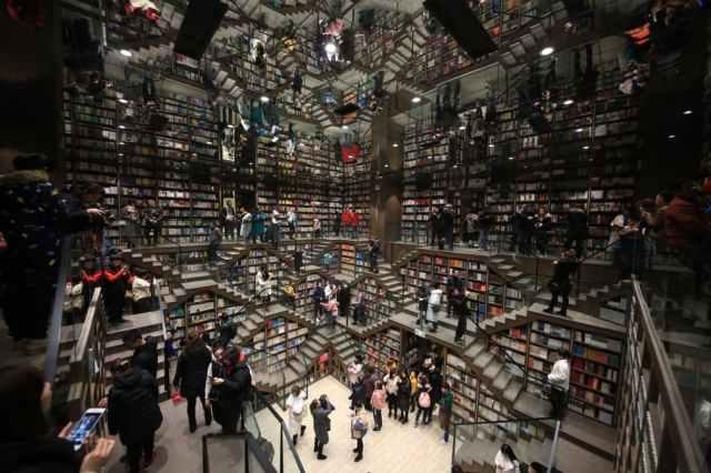 Книжковий магазин, Китай