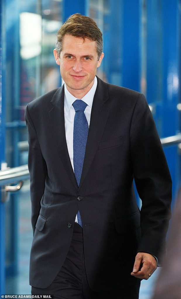 Міністр оборони Великобританії Гевін Вільямсон
