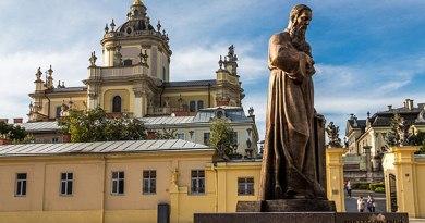 Шептицький і собор святого Юра у Львові