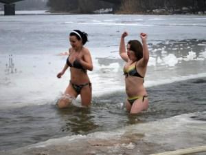 Купання на Водохреща у Києві