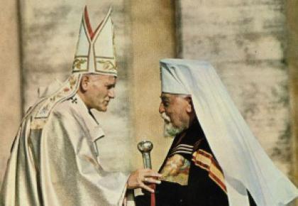 Патріарх Йосип Сліпий і Папа Римський